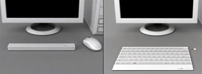 Keystick folding keyboard-3