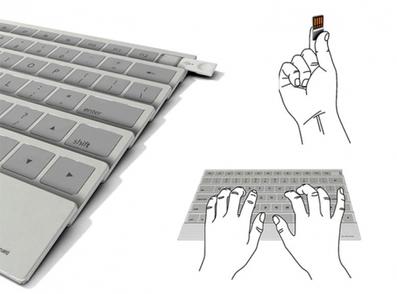 Keystick folding keyboard-4