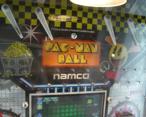 Pac-Man Ball Game