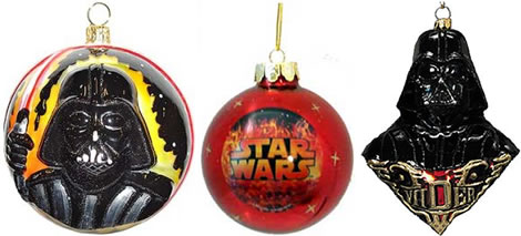 antagonist darth vader cool ornament
