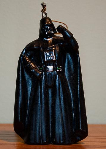antagonist darth vader hidieous ornament