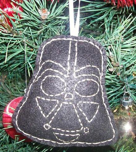 antagonist darth vader ornament