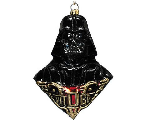 antagonist darth vader scary ornament