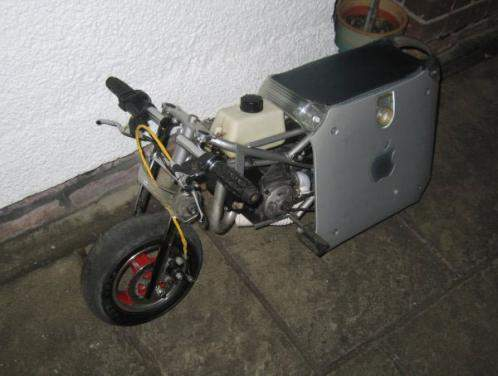 apple powermac g4 motorbike mod