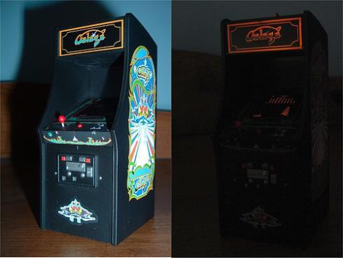 arcade galaga cool ornament