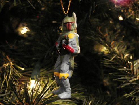 boba fett ornament