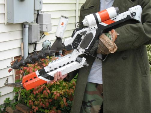 cool district 9 arc gun propr