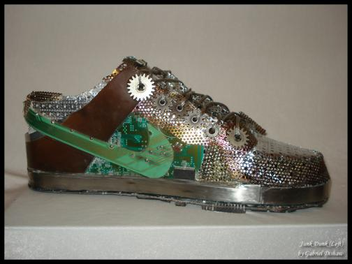 cool nike shoes of metal