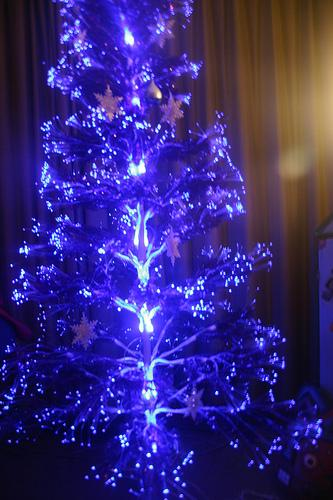 geeky led tree