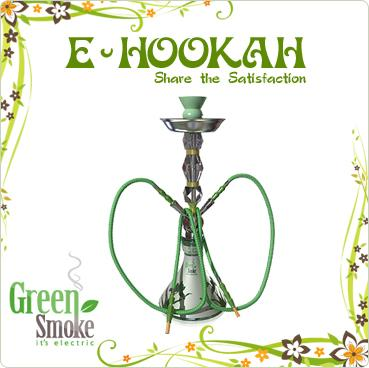 green smoke hookah