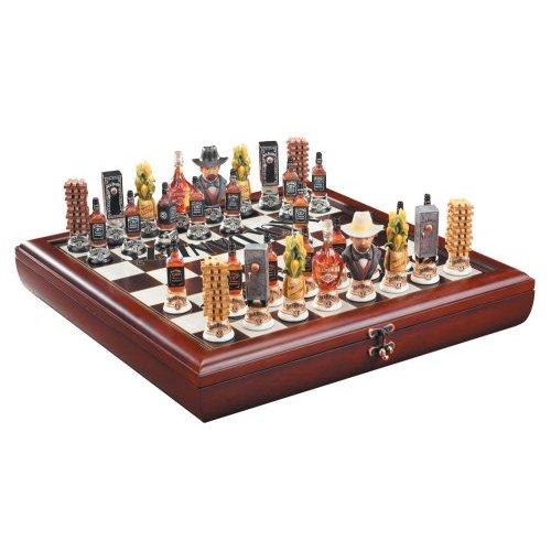 jack daniel's chess set