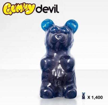 large gummy bear blue