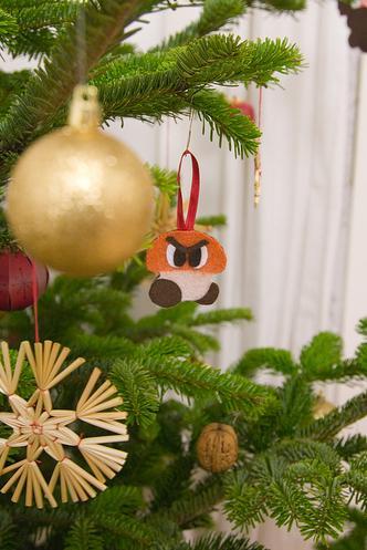 mario bros ornaments