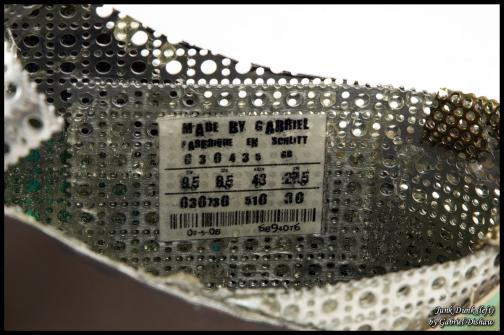 metal junk dunk nike shoes