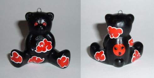 naruto itachi teddy bear ornament