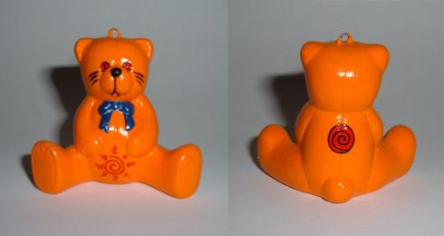naruto teddy bear ornament