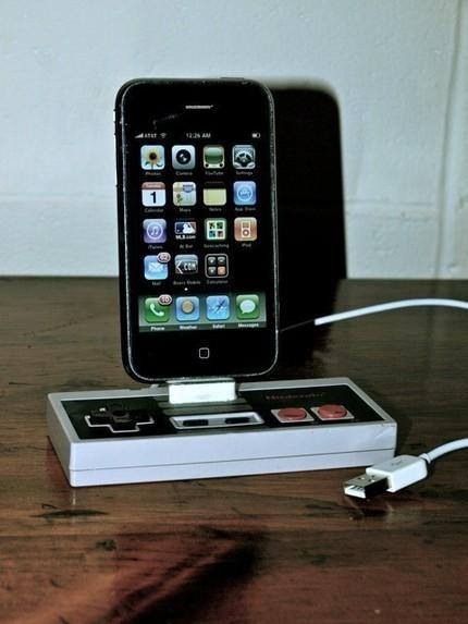 nes iphone dock mod