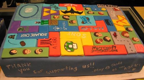 new tetris cake