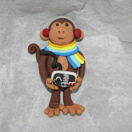 nintendo monkey ornament