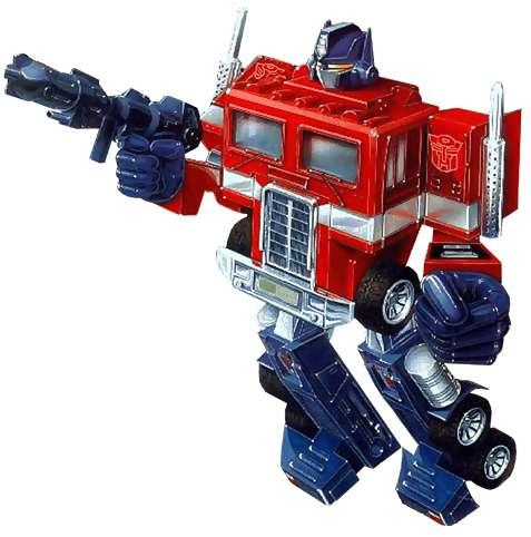 optimus prime costume video