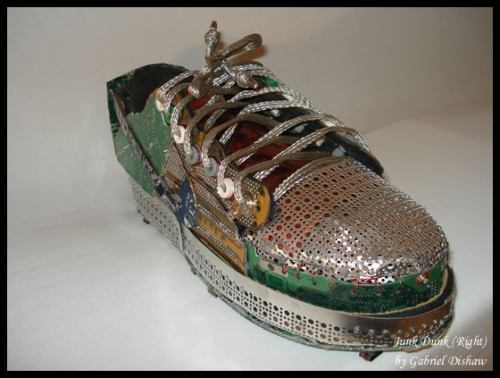 reclcled sneaker 1