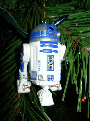 robotic r2d2 cool ornament