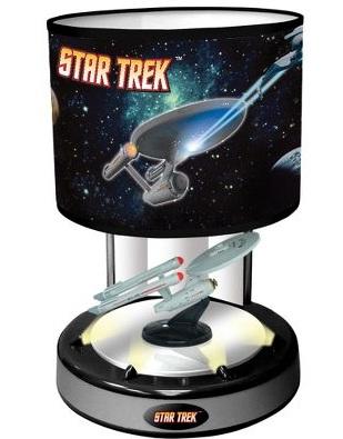 star trek illuminated lamp