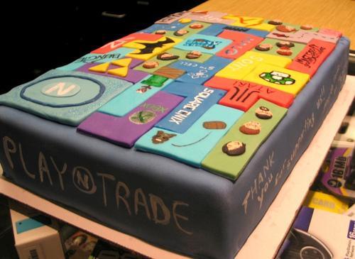 sweet tetris cake art