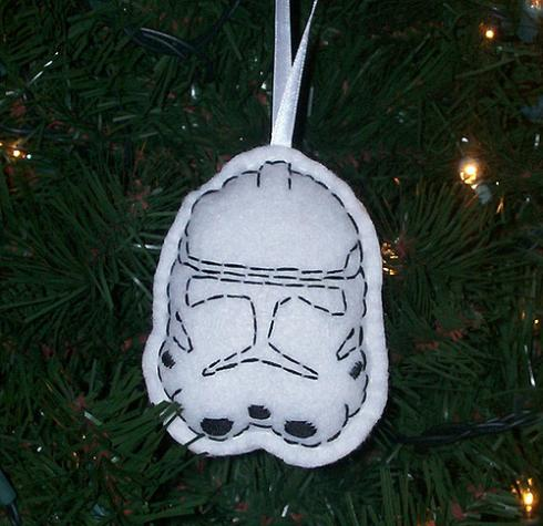 weapons clone trooper ornament
