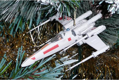 weapons xwing fighter ornament