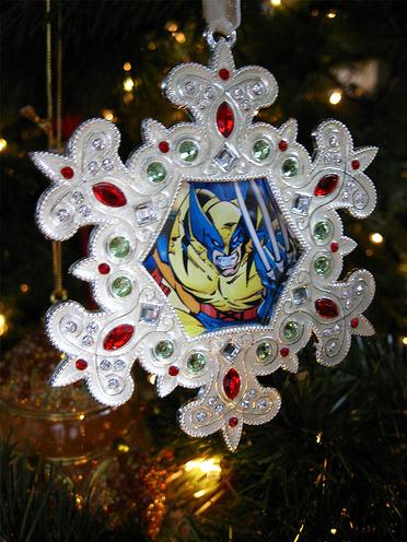 wolverine cool ornament