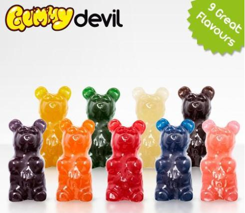 worlds largest gummy bear flavors