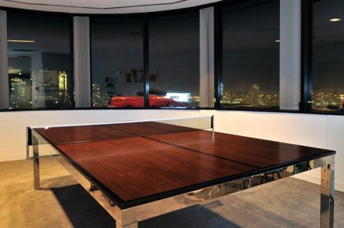 ... How You Can Make Your Office Table A Bit More Inviting, Hereu0027s A  Suggestion Of How Your Mundane Table Can Double Up As The Table For Playing Ping  Pong ...