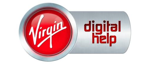 Virgin Digital Help logo