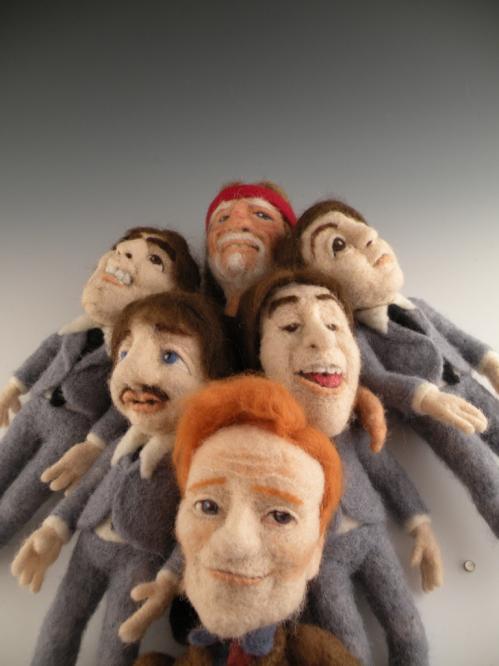 conan obrien and guests dolls
