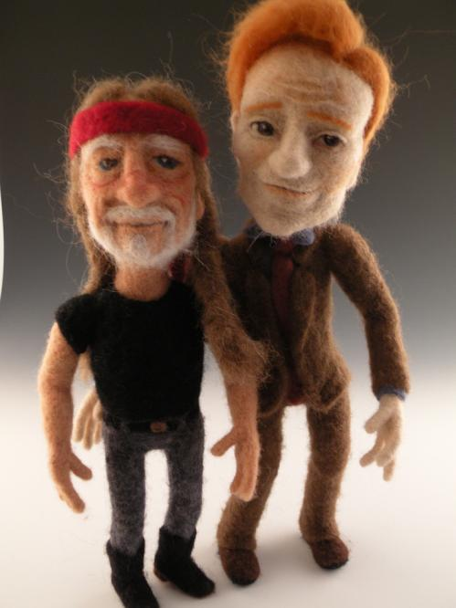 conan obrien willie nelson dolls