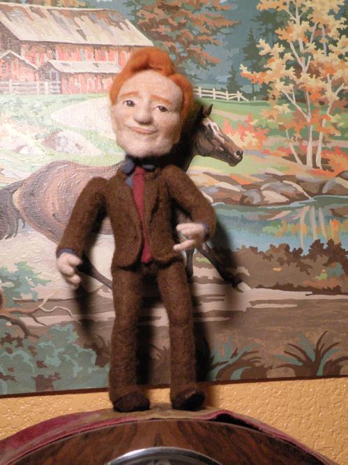 funny conan obrien doll