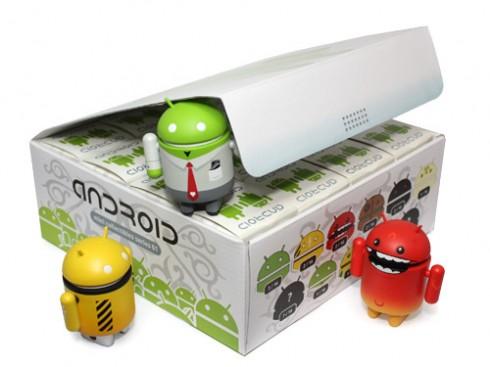 google android robot mascot doll