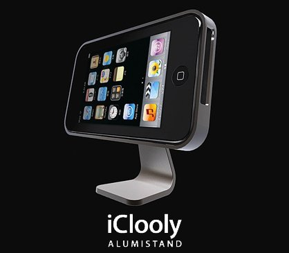 iphone 3g aluminum stand