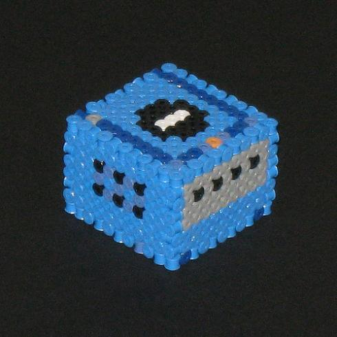 Perler Bead Video Game Consoles Look Cute And Artistic