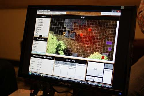 surfacescapes has brought dungeons dragons tabletop gaming to the