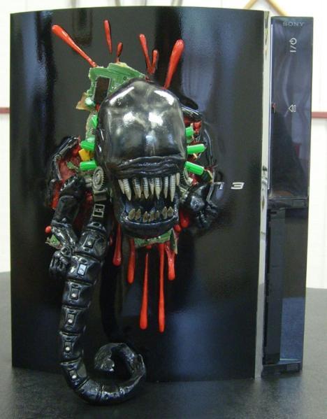 alien ps3 mod