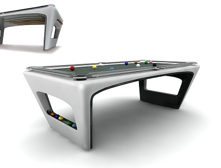 Pool Tables Unites Luxury with Entertainment | Walyou