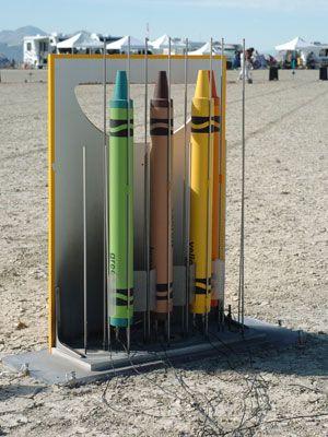 crayola crayon rocket project image