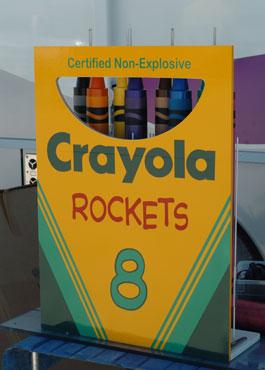 crayola crayons rockets