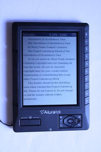 ebook reader aluratek