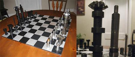 Funky Chess Sets
