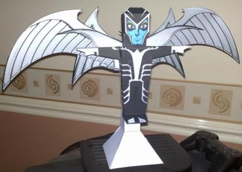 marvel papercraft archangel