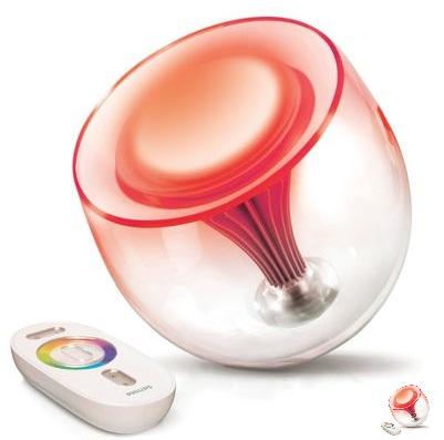 multi colored designer lamp