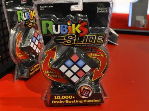rubik's cube slide display
